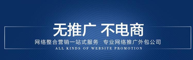 网络营销-无推广不电商