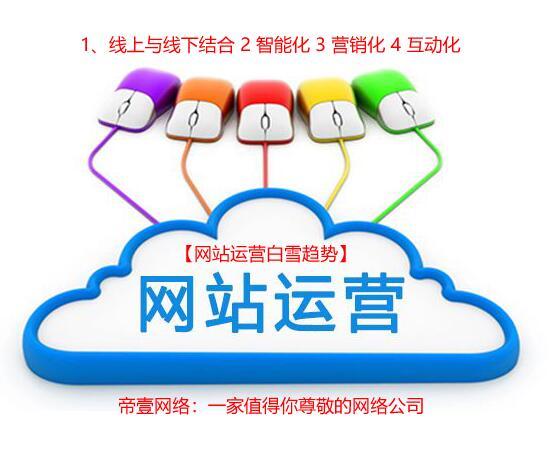 网站运营成功四要素